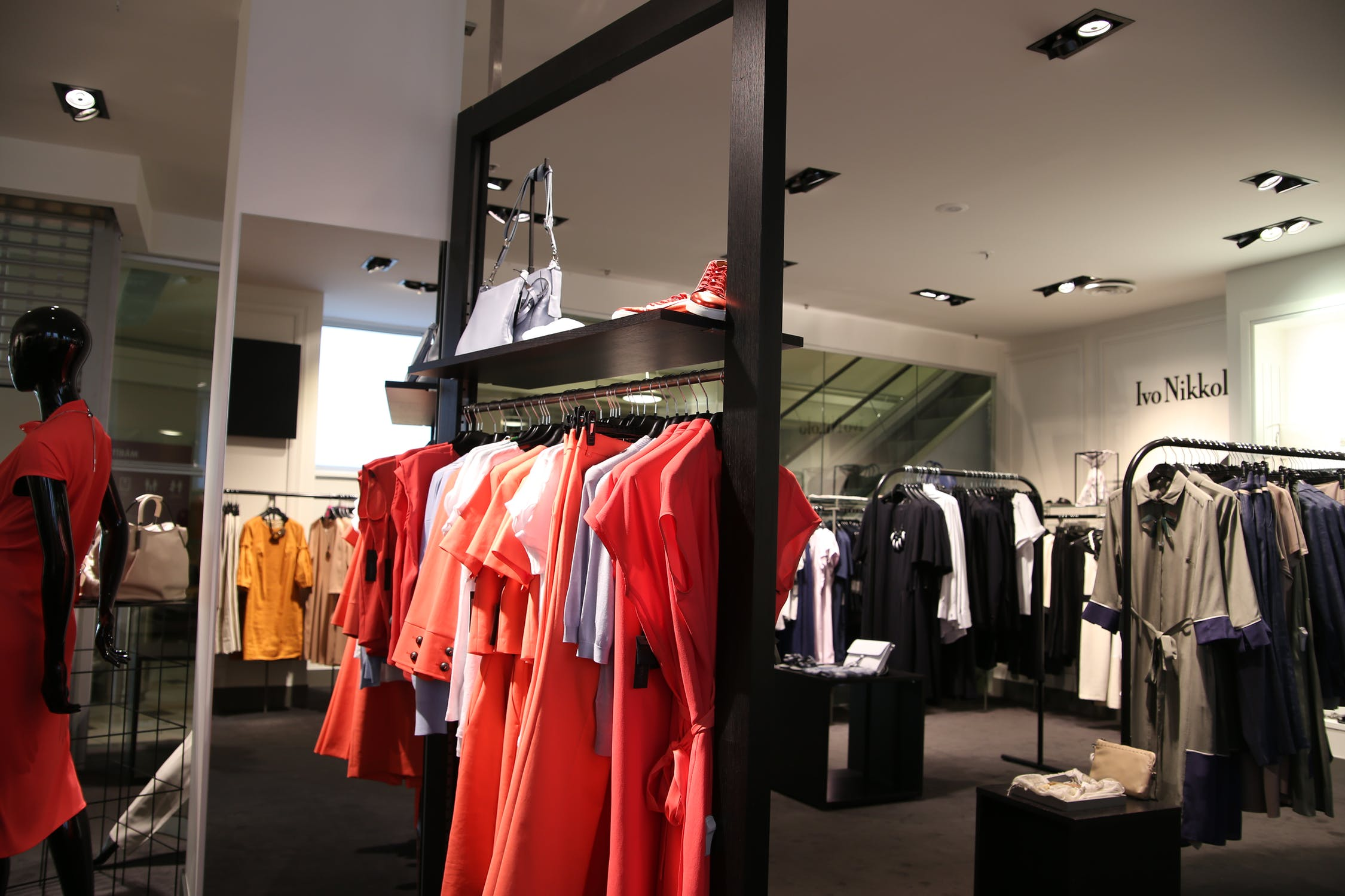 loja de roupas sem gênero